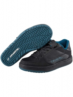 Oneal Black-Blue  Torque Spd Mtb Shoe (Us 9.5, Black) vel. 44