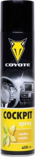 COYOTE Cockpit spray Vanilka 400ml