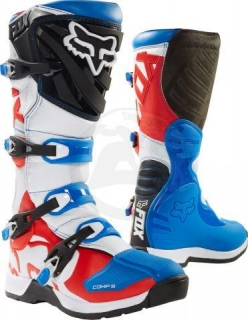 Motokrosové boty FOX BOOTS COMP 5 BOOT - BLUE/RED, MX18